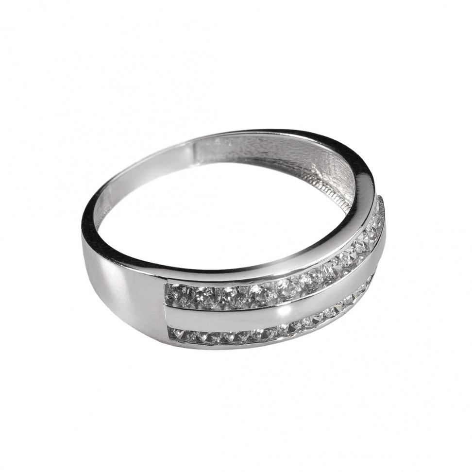 šperk Prsten bílé zlato